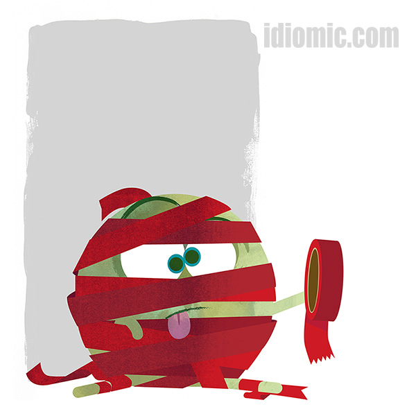 'Red Tape' illustrated at Idiomic.com: phrase definition ...